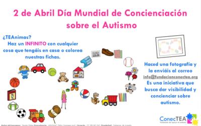 Mándanos tu infinito: 2 de Abril Día Mundial de Concienciación sobre el Autismo