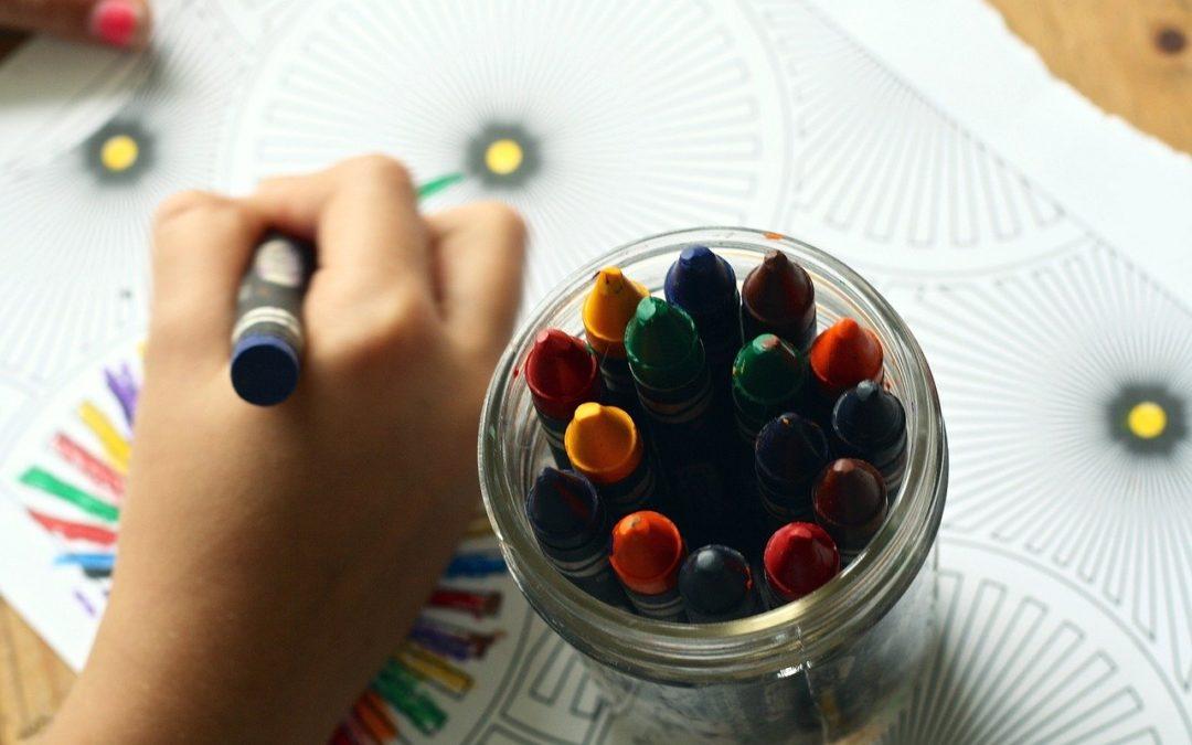 Cómo enseñar a respetar el margen al colorear