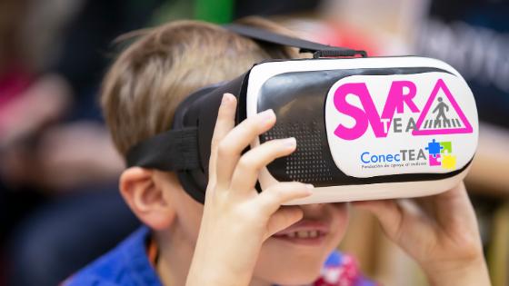 Realidad virtual para personas con autismo