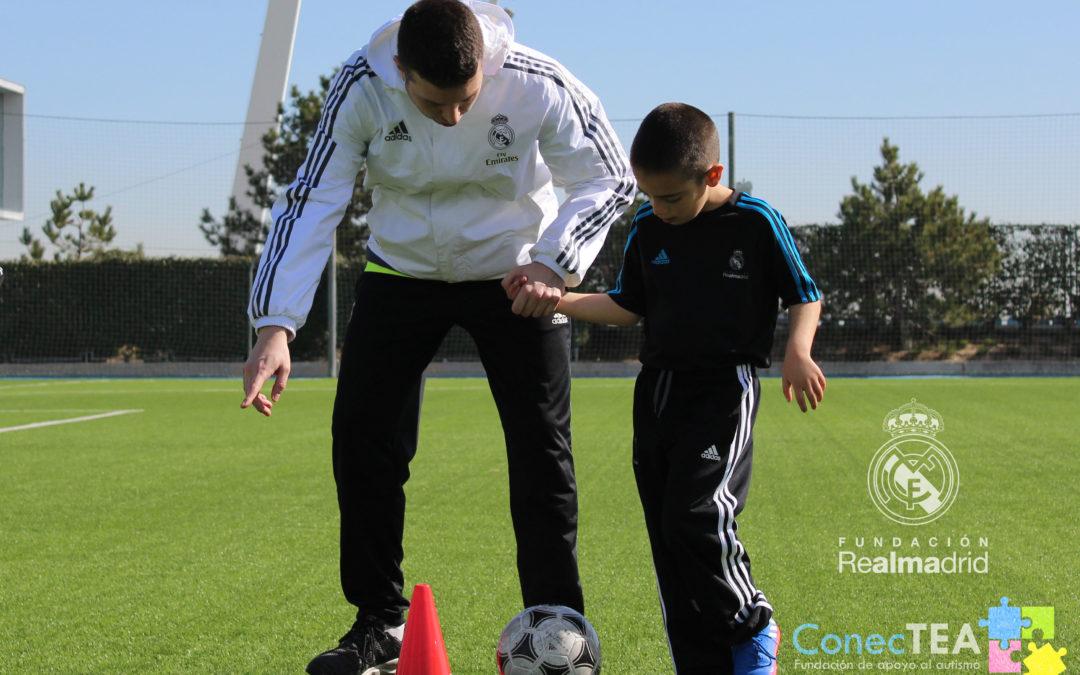 Fundación ConecTEA, nuevo colaborador de la Fundación Real Madrid