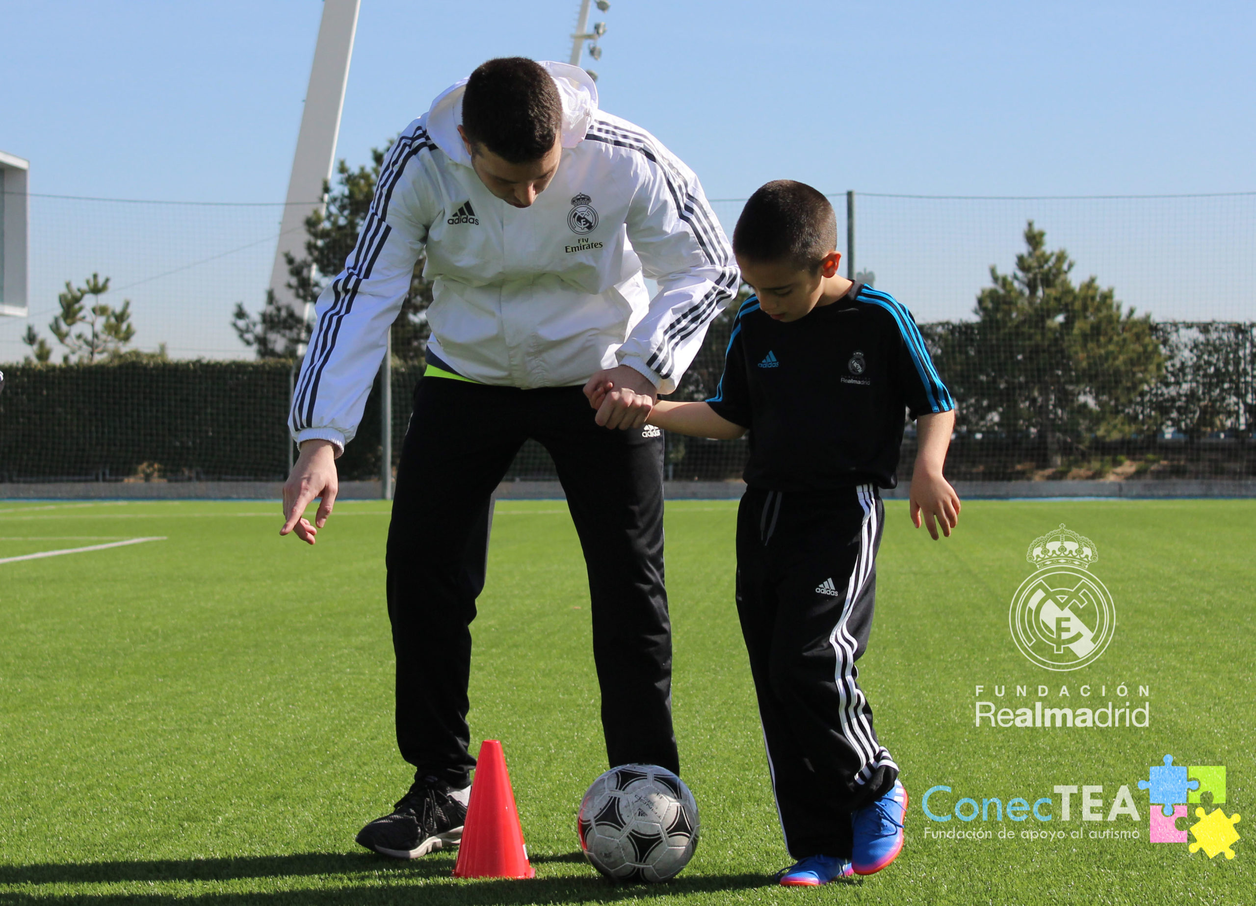 ConecTEA y fundación Real Madrid