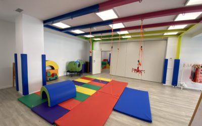La sala de terapia ocupacional con enfoque de integración sensorial
