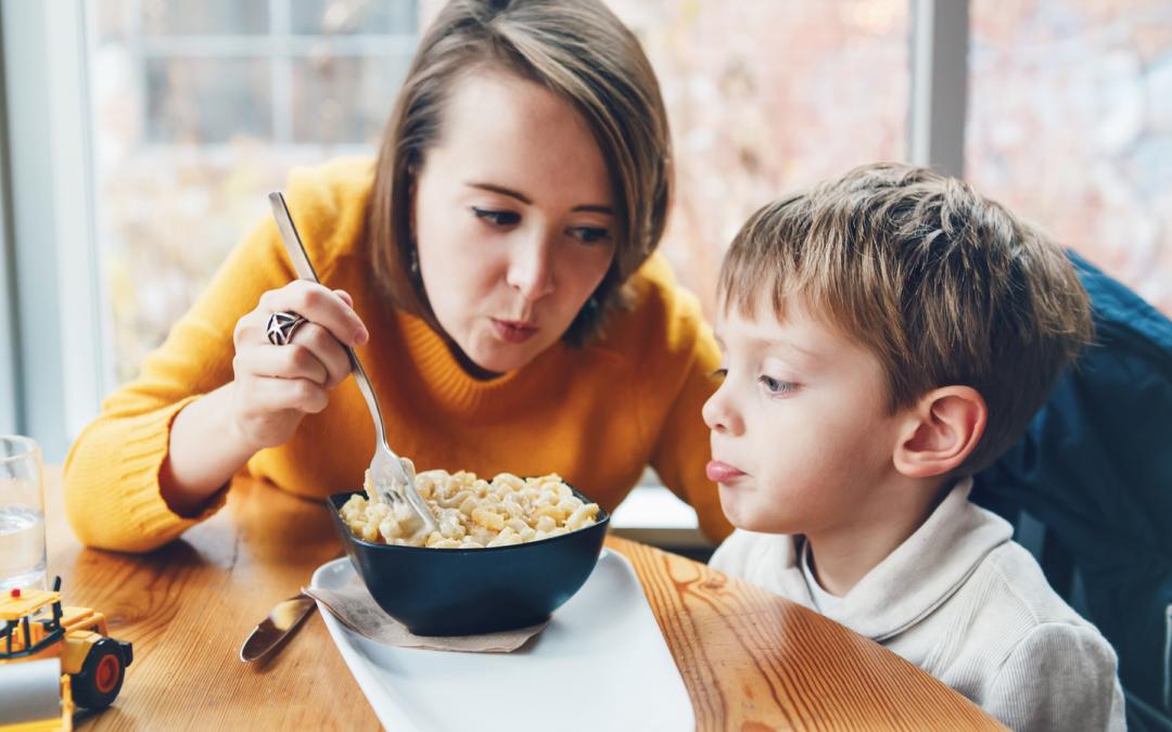 Integración sensorial y alimentación en el autismo
