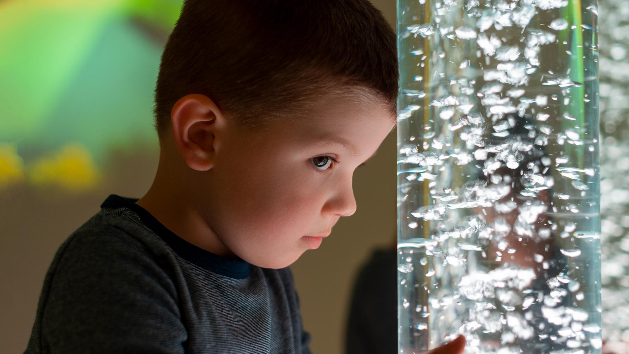 Procesamiento sensorial en el autismo