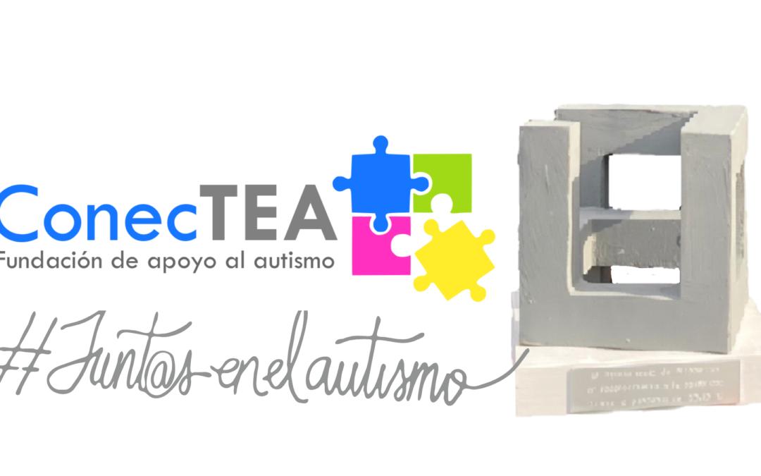 Fundación ConecTEA es premiada por el Ayuntamiento de Alcobendas por apoyar a familias y profesionales durante la pandemia COVID-19