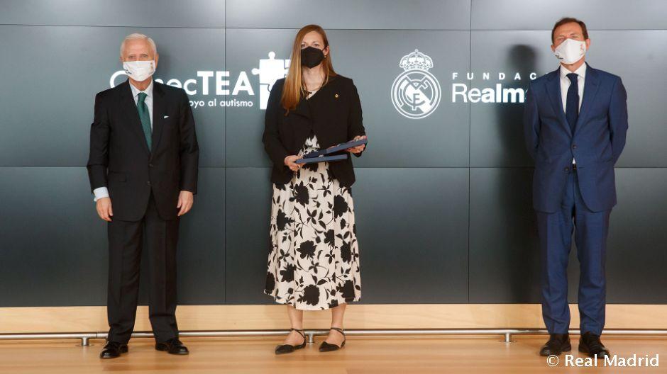 Fundación ConecTEA ratifica su alianza con la Fundación Real Madrid con motivo del Día Mundial del Autismo