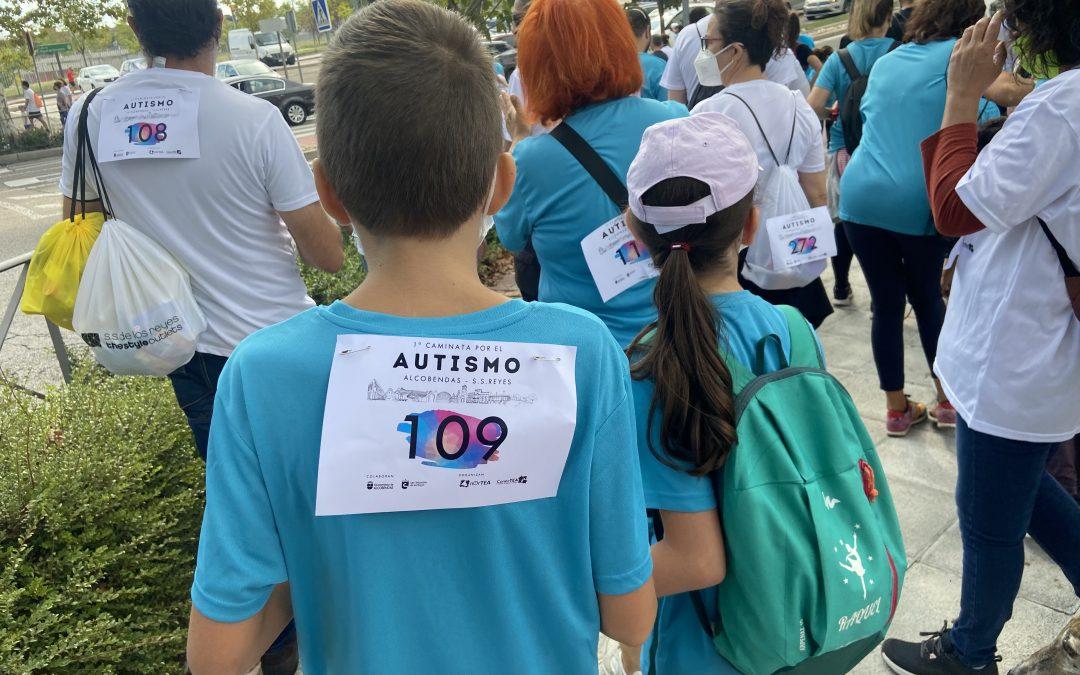 Más de 500 participantes en 1ª Caminata por el Autismo Alcobendas – San Sebastián de los Reyes