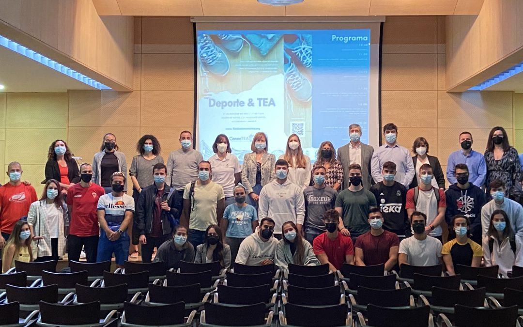 Más de 100 personas nos acompañan en la Jornada Deporte y TEA de Fundación ConecTEA